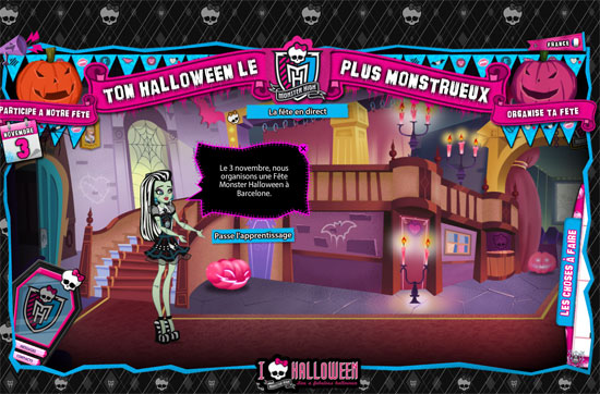 Monster High Mattel Halloween