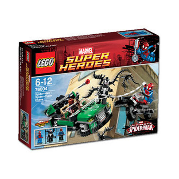 Spider-man spider Cycle lego
