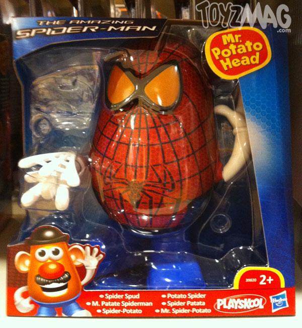 The amazing spider-man hasbro  Mr patate