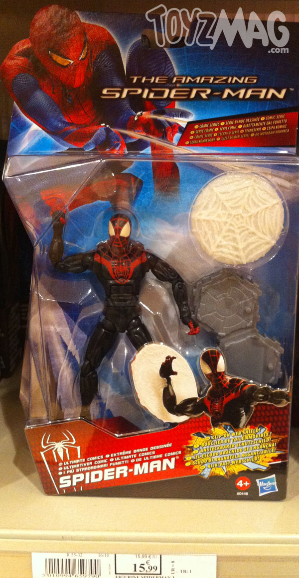 The amazing spider-man hasbro
