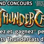 Concours : Gagnez des Jouets Thundercats avec ToyzMag et Bandai France