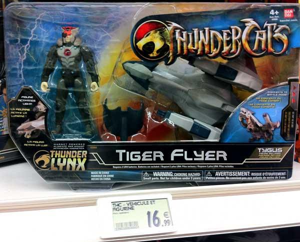 Cosmocats / Thundercats (Bandai) 2011 - 2012 - Page 21 Thundercats-Tygus-tiger-flyer-bandai