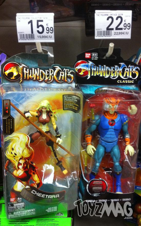 Thundercats bandai cheetara Tigra 6inch bandai