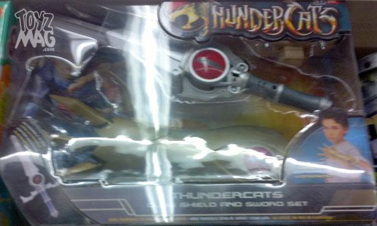 Thundercats bandai bouclier griffe épée d'omens