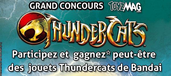 Thundercats concours gagnez de figurines Bandai