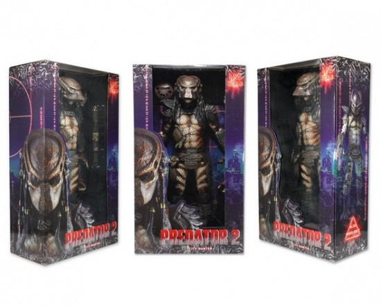 Packaging du Masked City Hunter Predator échelle 1/4 par NECA