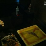Le boba fett Fireing rocket exposition Star wars les jouets musées des arts décoratifs