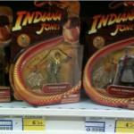 Réapparition des figurines Last-Crusade d'Indiana Jones