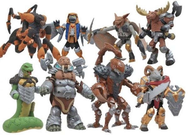 Battle Beasts minimates serie 1 exclues TRU