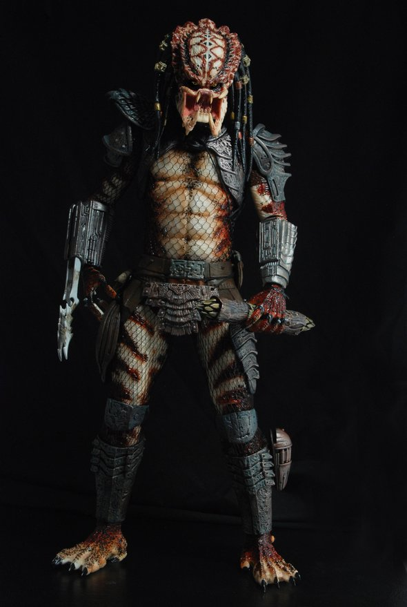 Unmasked City Hunter Predator par NECA (échelle 1/4)