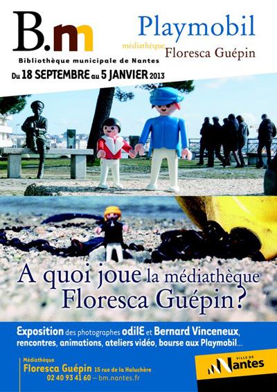 Expo Playmobil: A quoi joue la médiathèque Floresca-Guépin?