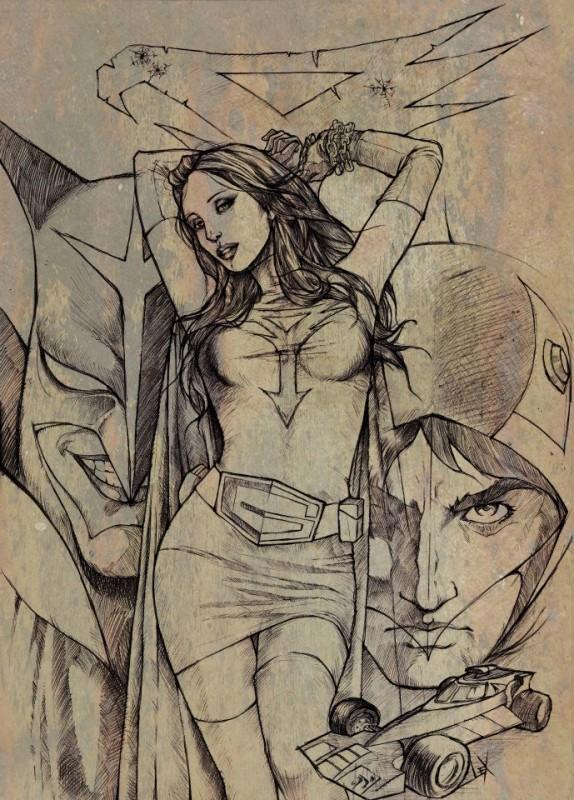 cartoonist 2013 Gatchaman June  Alexis Tallone la batille des planètes Princesse