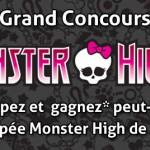 Concours Monster High / ToyzMag gagnez des poupées