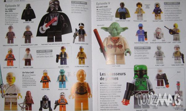 lego le coffret collector Les figurines, 30ans d'Histoire