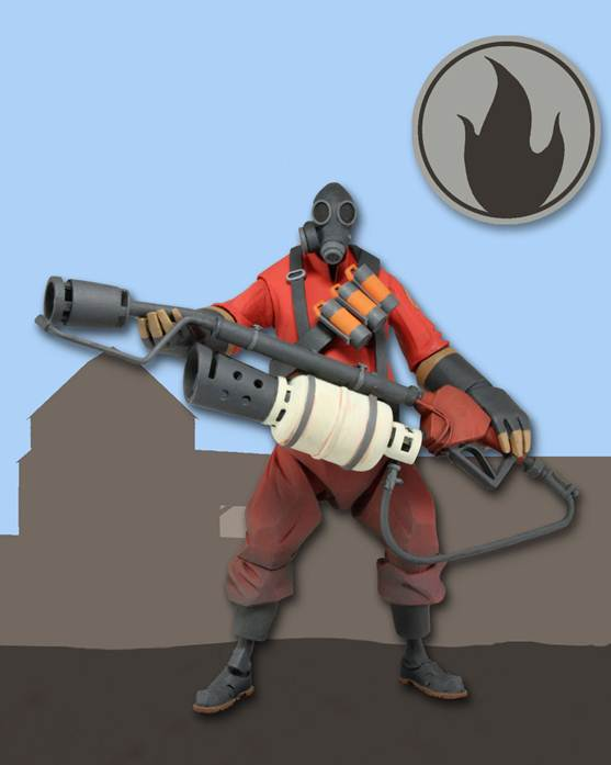 neca pyro team fortress 2