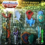 MOTUC point sur le Weapons Pak Great Unrest