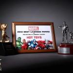 Hot Toys mis à l'honneur par Disney et Marvel