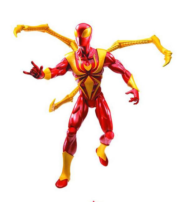 6 Ultimate Spider-Man Figures