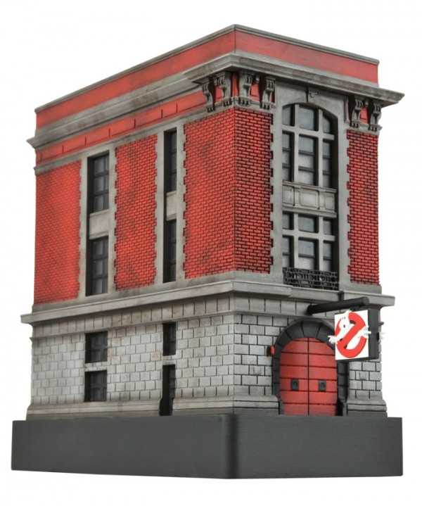 Ghostbusters Light-Up Firehouse Mini-Statue
