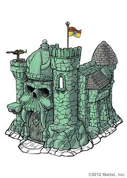Grayskull Playset motuc