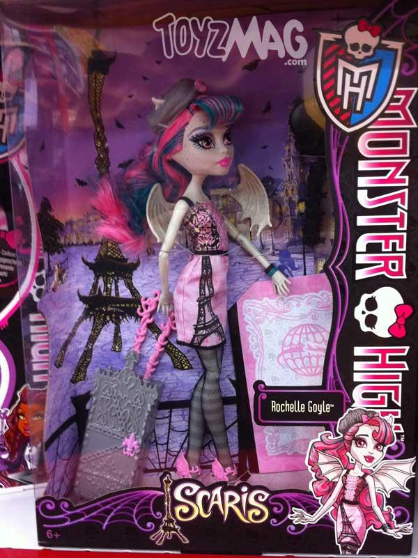 Monster High Scari Rochelle golys