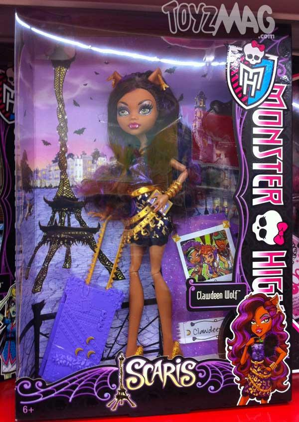 Monster High Scari clawdeen