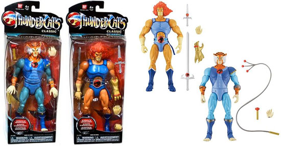 Thundercats Vintage classics Lion-O et Tygra