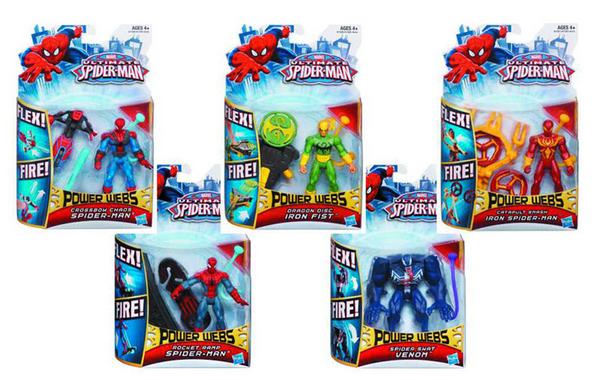 Ultimate Spider-Man Power Webs