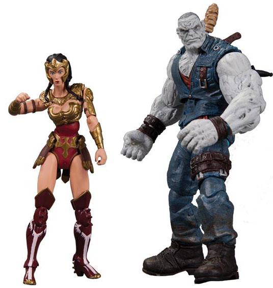 Wonder Woman vs Solomon Grundy