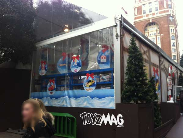 madrid Mattel Shop