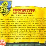 MOTUC : Traduction de la bio de PROCRUSTUS