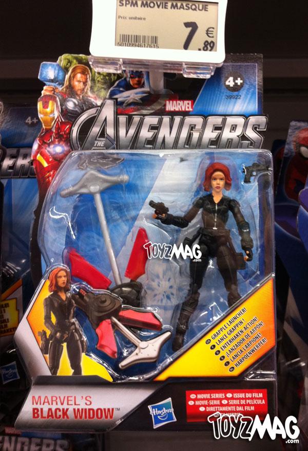 the avengers Hasbro scarlett Black widow