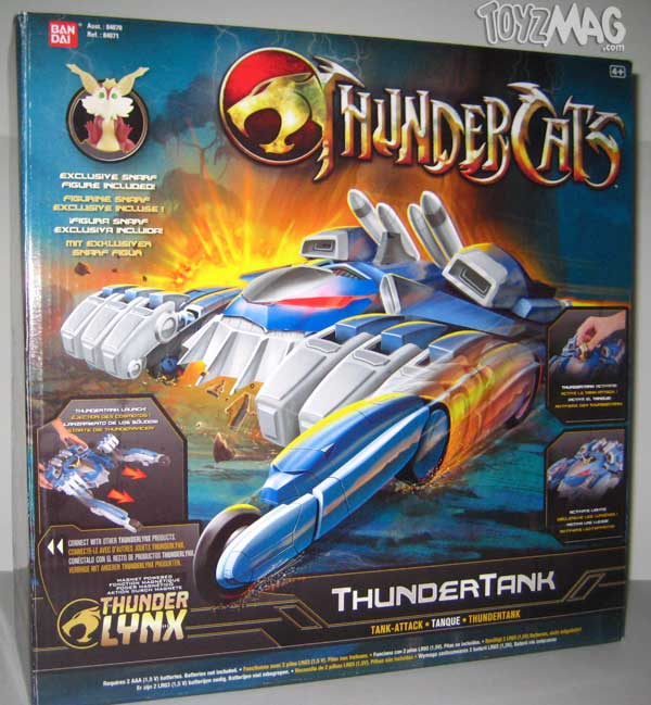 thundertank thundercats bandai