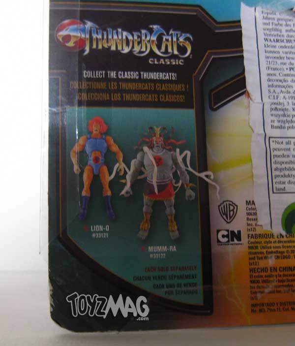 Tigra thundercats DX 6inch blister EURO