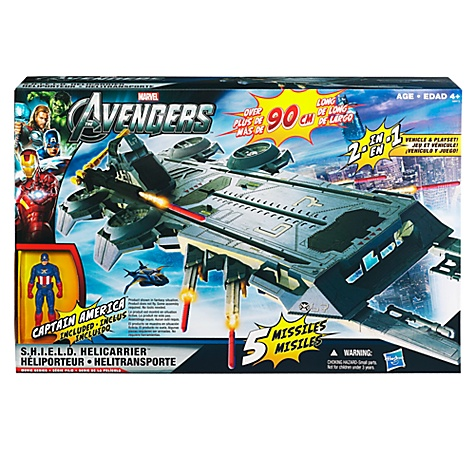 Heliporteur avengers hasbro box