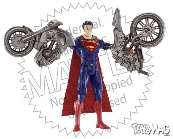 Man of steel Supeman Mattel