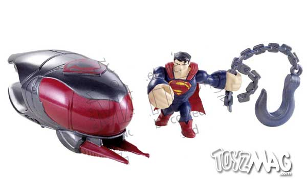 Man of steel Supeman Mattel quick shot 2