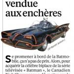 La vraie Batmobile : un jouet trop grand pour nous...