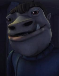 blue snaggletooth dans TCW star wars