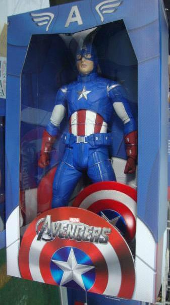 captain america neca