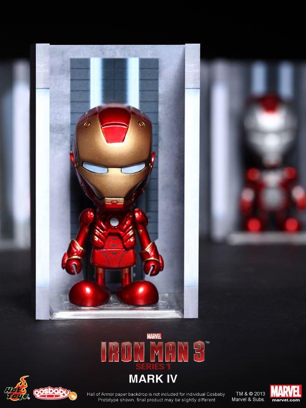 hot toys iron man 3 cosbabies series 1 - 6