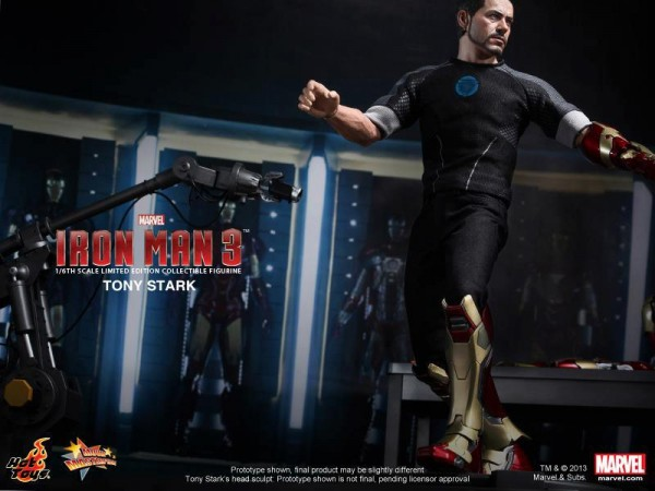 iron man 3 hot toys tony stark 1