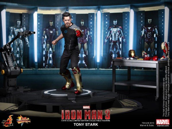iron man 3 hot toys tony stark 2