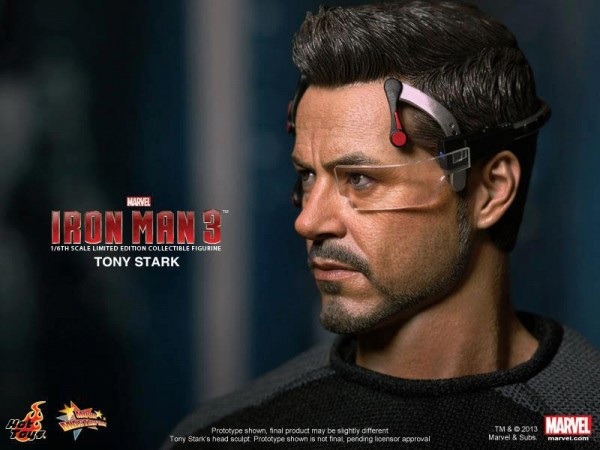 iron man 3 hot toys tony stark 3