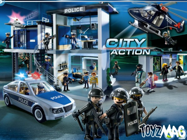 playmo 2013 policiers Playmobil POLICE