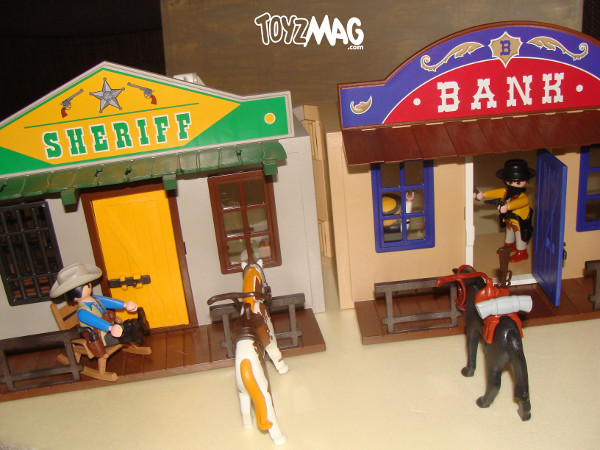 playmobil western review coffret de cow. Black Bedroom Furniture Sets. Home Design Ideas