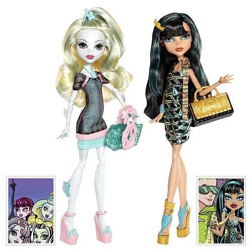 MH 2pack ghouls week-end-exclue-TRU-Lagoona et Cleo