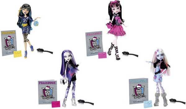 Monster High photos de classe