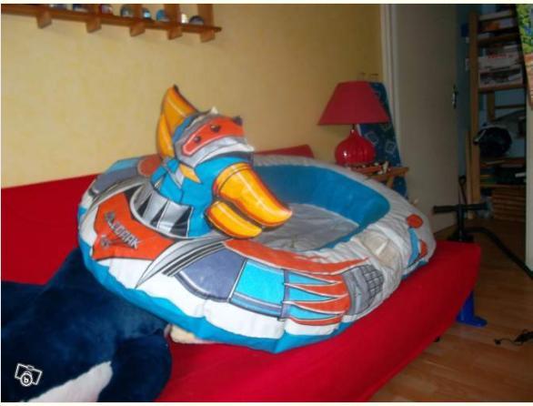 goldorak bateau gonflable leboncoin 2 février 2013
