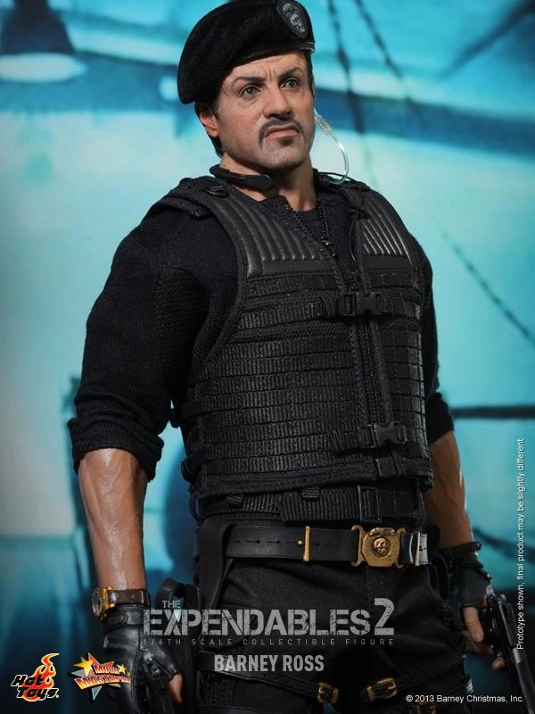 hot toys expendables 2 barney ross 13